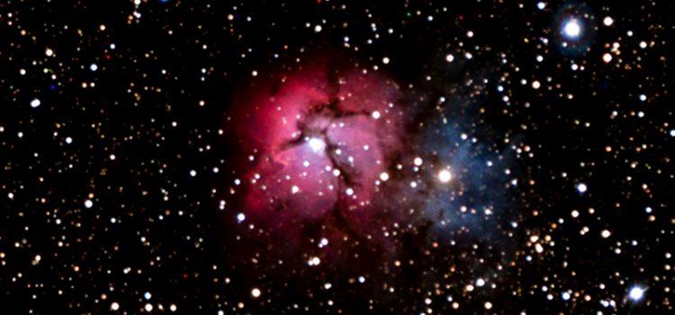 Messier 20, la nébuleuse Trifide