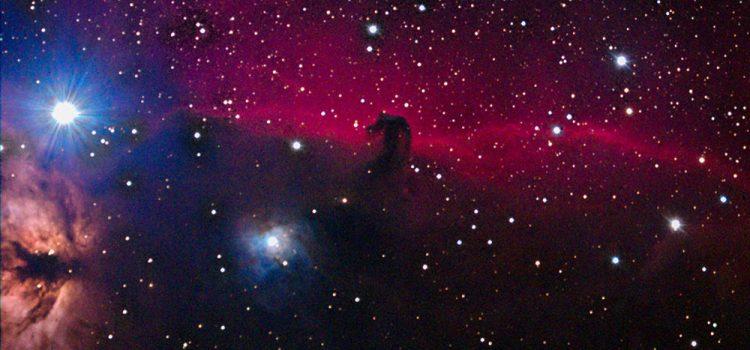 La nébuleuse IC 434 et Barnard 33 (Nébuleuse de la Tête de Cheval)